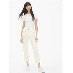 NWT Gap Mariner Cheeky Straight Jeans 4/27 c156